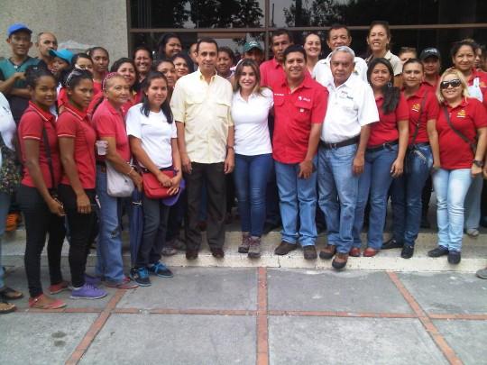 Poder popular organizado celebró la donación de la unidad de transporte