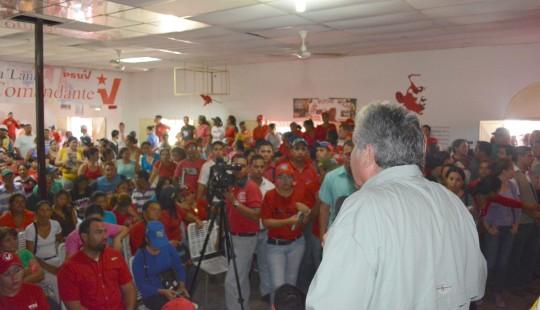 Castro Soteldo: El objetivo fundamental de la asamblea popular es seguir profundizando junto a la estructura base del partido